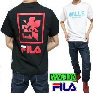 FILA/フィラ エヴァンゲリオン/EVANGELION Tシャツ メンズ/レディース ユニセックス...