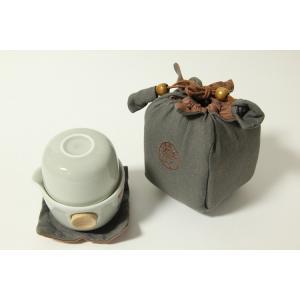 携帯用茶器 ベージュー|shinkoujun