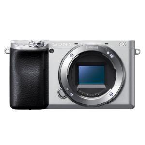 デジタル一眼カメラ α6400 ボディのみ(シルバー)ILCE-6400(S)|shinku