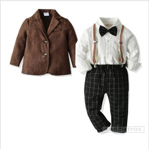 【商品名】ズボンのウェストは総ゴム仕様なので、小さいお子さんも脱ぎ履きしやすいです。 結婚式やお呼ば...