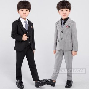韓国子供服 スーツ 卒業式 入学式 小学生 男の子 ジャケット パンツ ベスト  3点セット  スト...
