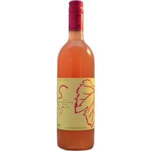 まるき葡萄酒 巨峰にごり 750ml(ロゼ)  鮮やかなピンク系白濁色がとても印象的。 巨峰ならでは...