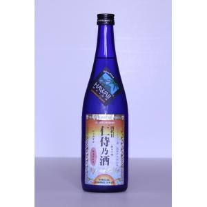 ハワイ純米吟醸酒 銘柄:仁侍乃酒(にじのさけ)ハワイ水仕込み 無濾過原酒 720ml 1本 アルコール15度 |shinoku-store