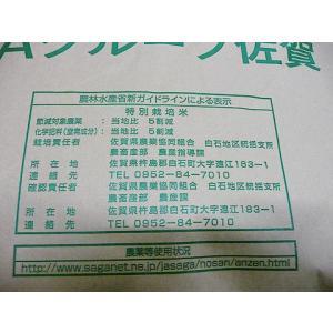 令和1年 佐賀県白石地区産 特別栽培 『七夕コシヒカリ』 10kg|shinozaki-kome|06