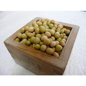平成25年産 手作り味噌材料 北海道産 減農薬 特別栽培大豆大袖の舞 1kg|shinozaki-kome