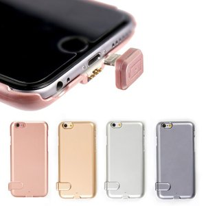 iPhone6 6s ケース バッテリー内蔵 モバイルバッテリー  アイフォン 1500mAh|shinpei00001