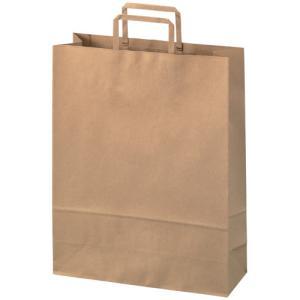 SV 手提袋 平紐 茶 大 1枚  B293J-B-1P ポイント消化|shinpukue-shop