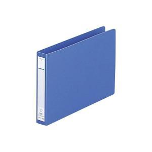 LIHITLAB パンチレスファイル F-373-9 B6E 藍|shinpukue-shop