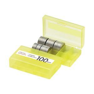 オープン工業 コインケース M-100W 100円用 収納100枚