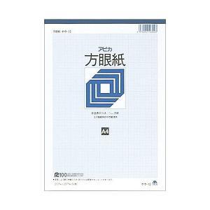 アピカ 方眼紙 ホウ12 A4 1ミリ方眼   |shinpukue-shop