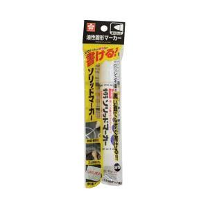 サクラクレパス ソリッドマーカー中字 10本 SC-P#50 白|shinpukue-shop