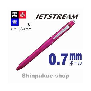 ジェットストリーム3+1 4多機能ペン MSXE4-5000-07 ピンク 代引き不可ポイント消化 shinpukue-shop
