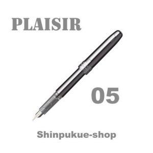 プラチナ万年筆 PLAISIRプレジール ガンメタル 中字 PGB-1000B-98-3 代引き不可ポイント消化 Z|shinpukue-shop