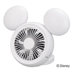 Disney (ディズニー) ミッキー 型 3電源(AC,USB,乾電池) 10cm コンパクトデスク扇風機 手鏡付 アロマ付 ホワイト NPM-1084U(WH)|shins