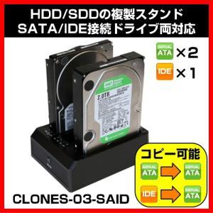 CLONES-03-SAID Clone's HDD/SDDの複数スタンド SATA/IDE接続ドライブ Groovy shins