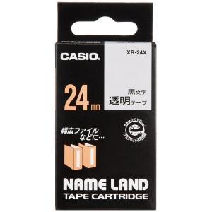 【在庫あり】 カシオ ネームランドテープ XR-24X