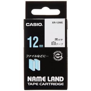 【在庫あり】カシオ ネームランドテープ XR-12WE