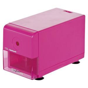 ナカバヤシ 電動鉛筆削り器 ピンク DPS-211-KP 包装無料