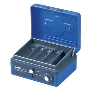 カール キャッシュボックス コンパクトサイズ ブルー CB-8100-B