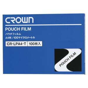 クラウンパウチフィルム A4判 CR-LPA4-T|shinsen-b0919