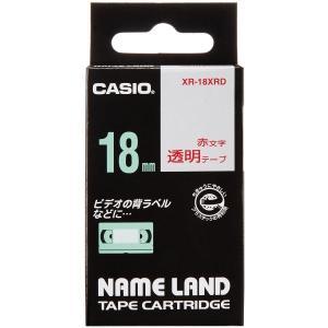 カシオ ネームランドテープ XR-18XRD