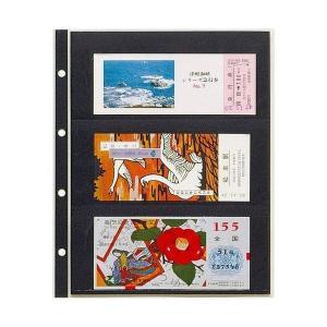 テージー コレクションアルバム用 3段ポケット 小型シート・宝くじ・記念乗車券用 CA-303S shinsen-b0919