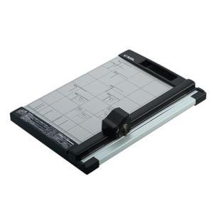 本体サイズ/重量 W265×L388×H70mm/1.1kg  対応サイズ A4  裁断枚数[丸刃]...