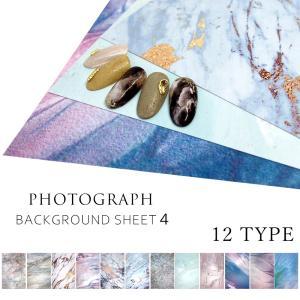 ネイルチップ 撮影用 シート デザインペーパー vol.4 全12種 shinwa-corp