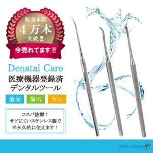 ステンレス製デンタルツール  歯石 ヤニ 取り用 除去 削りだし1本物 高耐久性 医療機器|shinwa-corp
