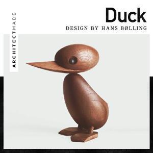 ARCHITECTMADE/アーキテクトメイド Duck ダック オブジェ 親/アヒル/木製/玩具/親子/ハンドメイド/|shinwashop