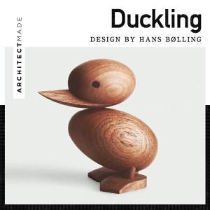 ARCHITECTMADE/アーキテクトメイド Duckling ダックリング オブジェ 子/アヒル/木製/玩具/親子/ハンドメイド|shinwashop
