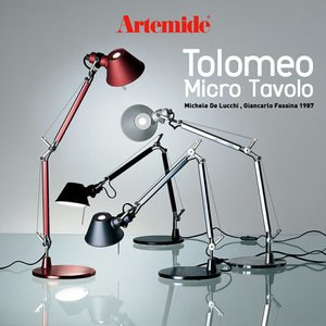 Artemide アルテミデ TOLOMEO MICRO TABLE トロメオ ミクロ タボロ  テーブルランプ  ライト 照明 リビング キッチン 電球仕様|shinwashop