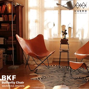 cuero/キュエロ BKF Chair/BKFチェア カラー:ブラウン Butterfly Cha...