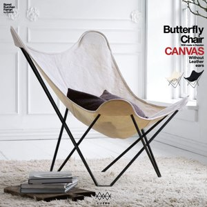 cuero BKF Butterfly Chair Canvas /キュエロ/BKF/バタフライ/チェア/キャンバス/ MoMA/ミッドセンチュリー/コルビジェ/イームズ/クエロ|shinwashop