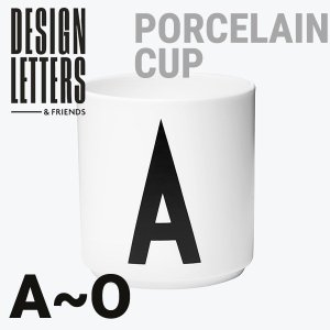 DESIGN LETTERS AJ PORCELAIN CUP A-O ポーセリンマグカップ デザインレターズ/カップ/Arne Jacobsen/アルネ・ヤコブセン|shinwashop