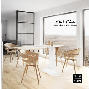 Design House Stockholm Wick chair デザインハウスストックホルム 椅子ウィック チェア/リビング/ダイニング/いす/ Jesper Stahl & Karl Malmvall|shinwashop