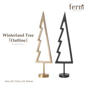 ferm LIVING Winterland Tree 《Outline》ウィンターランドツリー ファームリビング クリスマス 飾り リビング  北欧 インテリア 小物入れ|shinwashop