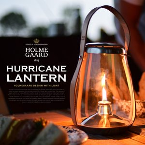 ●●HOLMEGAARD/ホルムガード HURRICANE LANTERN ハリケーンランタン #4343541 オイルランタン/テーブルランプ/キャンプ/北欧|shinwashop