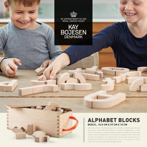 ●●Kay Bojesen  Denmark カイ・ボイスン ALPHABET BLOCKS 積み木|shinwashop