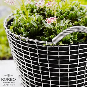 KORBO/コルボ PLANT BAG24/プラントバッグ24スウェーデン/北欧/カゴ/ガーデニング 日本正規代理店品|shinwashop