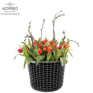 KORBO/コルボ PLANT BAG35/プラントバッグ35スウェーデン/北欧/カゴ/ガーデニング日本正規代理店品|shinwashop