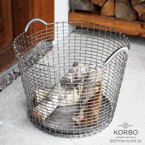 KORBO/コルボ BOTTOM PLATE35/プレート35スウェーデン/北欧/カゴ/プレート日本正規代理店品|shinwashop