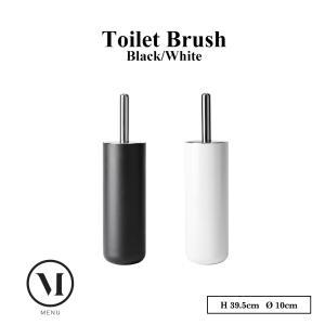menuメニュー  Toilet Brush トイレブラシ ブラック/ホワイト トイレ掃除 |shinwashop