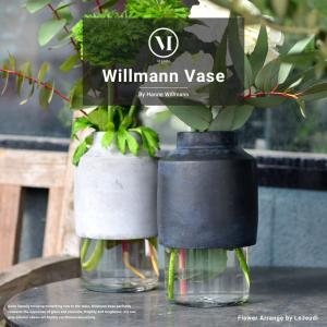 menu Willmann Vase/ウィルマン ベース メニュー デザイン/Hanne Willmann 花瓶/フラワーベース/水差し/北欧|shinwashop
