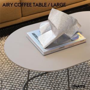 Muuto/ムート AIRY COFFEE TABLE / LARGE/エアリーコーヒーテーブル/Lサイズ/プライウッド/FENIXラミネート/Cecilie Manz/セシリエ・マンツ/|shinwashop