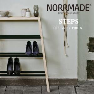 NORRMADE/ノルメイド STEPS/シューズラック ステップス/Shoe rack/シューズラック/収納/靴箱/スチール/木製/デンマーク/カウヒッチ/遊牧民|shinwashop