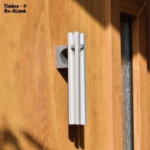 Timbre × SHINWA SHOP Bo-ALmuk[ボーアルムク]/ティンブレ/小林幹也/ドアチャイム/火箸風鈴/アルミ/サスティナブル shinwashop