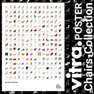 Vitra  Design Museum Chair Collection Poster 203 370 02 チェアポスター デザインミュージアム ポスター 絵 アート 壁飾り ヴィトラ shinwashop