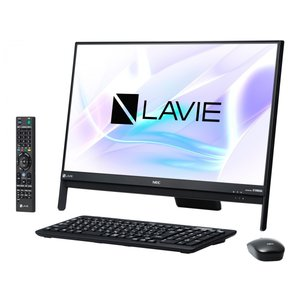新品 Office搭載 LAVIE Desk All-in-one DA370/HAB PC-DA370HAB [ファインブラック]/Office 2016付属/送料無料/代引無料|shinway-store