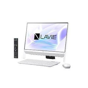 新品-即納 Office なしNECデスクトップパソコン LAVIE Desk All-in-one DA700KAW ファインホワイト 2018年 春モデル DA770HAWよりお勧め|shinway-store